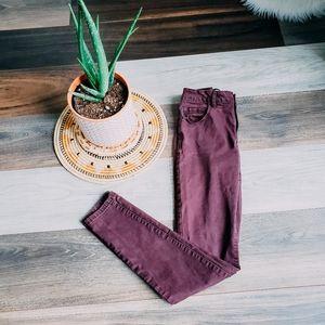Garage mauve jeans